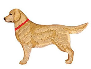 Golden Retriever - Animals - Photo Stitch - Embroidery Designs