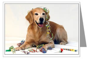 Golden Retriever Gifts Com Greeting Cards Notecards