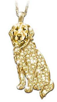 Golden Retriever Jewelry Sterling Silver Handmade Golden Retriever Charm  GRT2H-C