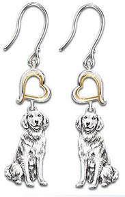 b00164628 golden retriever earrings